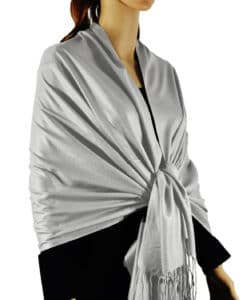 Solid Silky Wedding Pashmina