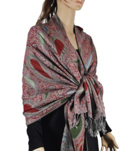 Section paisley Pashmina